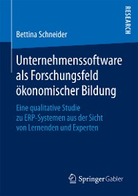 Cover Unternehmenssoftware als Forschungsfeld ökonomischer Bildung