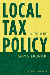 Cover Local Tax Policy