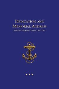 Cover Dedication and Memorial Address