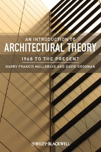 Cover An Introduction to Architectural Theory