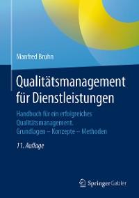 Cover Qualitätsmanagement für Dienstleistungen