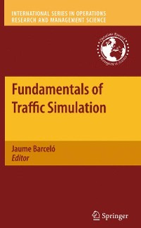 Cover Fundamentals of Traffic Simulation