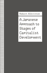 Cover Japanese Approach to Stages of Capitalist Development