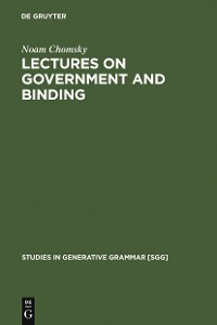 Cover Lectures on Government and Binding