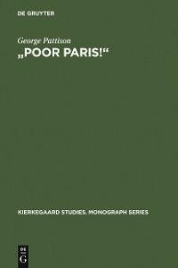 """Cover """"Poor Paris!"""""""