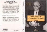 Cover Henri Desroche un passeur de frontieres