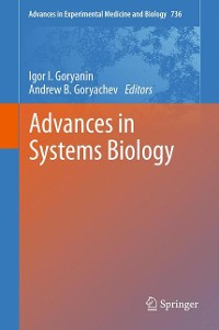 Cover Advances in Systems Biology