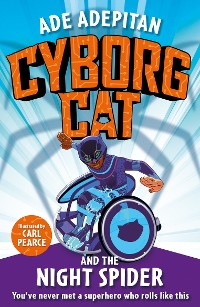 Cover Cyborg Cat and the Night Spider