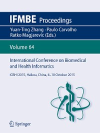 Cover International Conference on Biomedical and Health Informatics