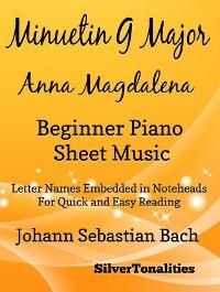 Cover Menuet in G Major Bwv 116 Anna Magdalena Beginner Piano Sheet Music