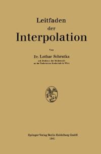 Cover Leitfaden der Interpolation