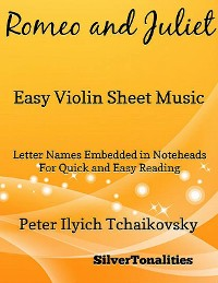 Cover Romeo and Juliet Easy Violin Sheet Music