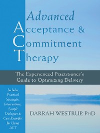 Cover Advanced Acceptance and Commitment Therapy