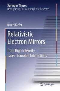Cover Relativistic Electron Mirrors