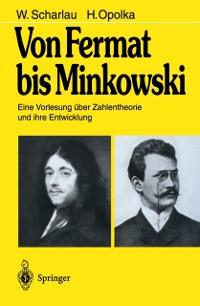 Cover Von Fermat bis Minkowski