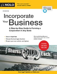 Cover Incorporate Your Business