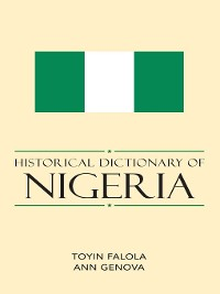 Cover Historical Dictionary of Nigeria