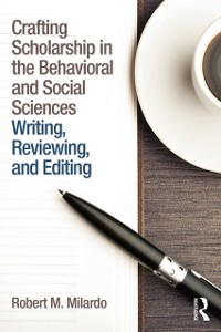 Cover Crafting Scholarship in the Behavioral and Social Sciences