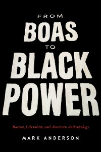 Cover From Boas to Black Power