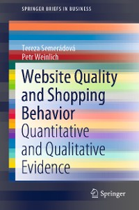Cover Website Quality and Shopping Behavior
