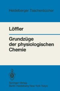 Cover Grundzuge der physiologischen Chemie