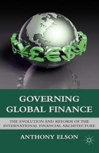 Cover Governing Global Finance