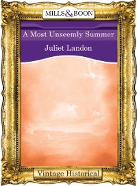 Cover Most Unseemly Summer (Mills & Boon Historical)