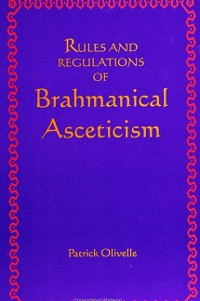 Cover Rules and Regulations of Brahmanical Asceticism