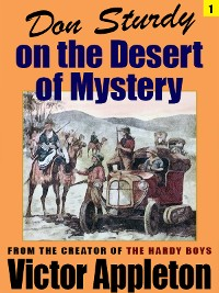 Cover Don Sturdy on the Desert of Mystery