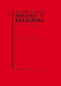 Cover Ricerche di storia sociale e religiosa, 91
