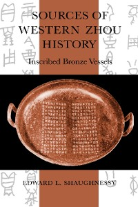 Cover Sources of Western Zhou History