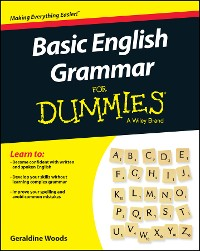 Cover Basic English Grammar For Dummies - US, US Edition