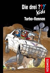 Cover Die drei ??? Kids, 81, Turbo-Rennen (drei Fragezeichen Kids)