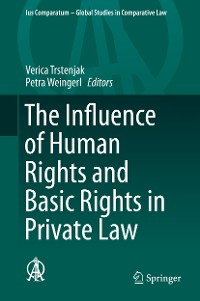 Cover The Influence of Human Rights and Basic Rights in Private Law
