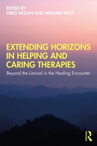 Cover Extending Horizons in Helping and Caring Therapies