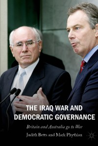 Cover The Iraq War and Democratic Governance