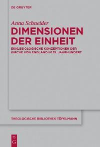 Cover Dimensionen der Einheit