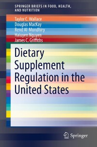 Cover Dietary Supplement Regulation in the United States