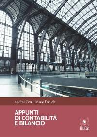 Cover Appunti di contabilità e bilancio