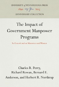 Cover The Impact of Government Manpower Programs
