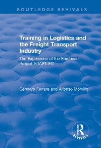 Cover Training in Logistics and the Freight Transport Industry