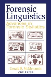 Cover Forensic Linguistics