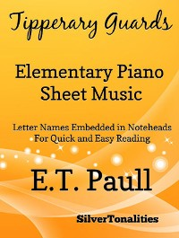 Cover Tipperary Guards Elementary Piano Sheet Music