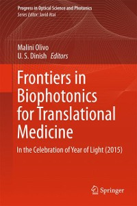 Cover Frontiers in Biophotonics for Translational Medicine