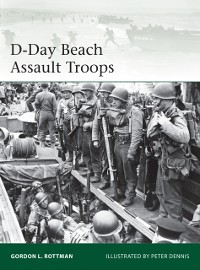 Cover D-Day Beach Assault Troops