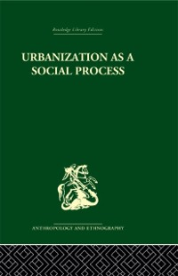 Cover Urbanization as a Social Process