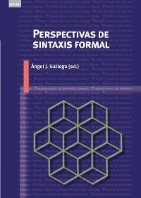 Cover Perspectivas de sintaxis formal