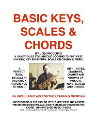 Cover Basic Keys, Scales And Chords by Joe Procopio