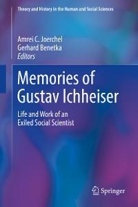 Cover Memories of Gustav Ichheiser