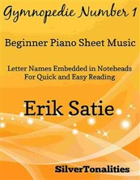 Cover Gymnopedie Number 1 Beginner Piano Sheet Music